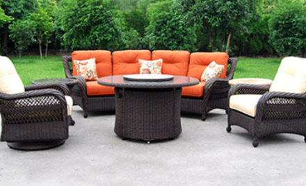 All Largo West Wicker Furniture Consists Of A Removable Seat Frame With  Your Choice Of Over 180 SUNBRELLA Fabrics. SOUTH SEAS PATIO SET