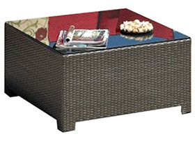 A 32 square Bali coffee table by Paradise Home & Patio