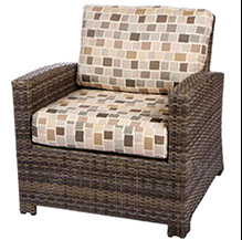 Bali club chair in willow by Paradise Home & Patio