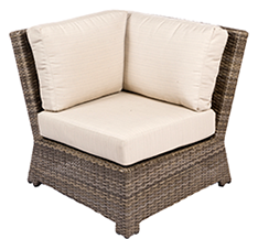 Bali corner in willow by Paradise Home & Patio