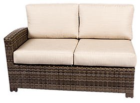 Bali left loveseat in willow by Paradise Home & Patio