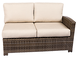 Bali right loveseat in willow by Paradise Home & Patio