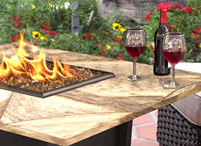 Fire Pit Tables Fort Pierce Fl Paradise Home And Patio